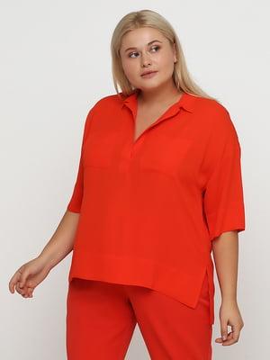 Блуза помаранчева | 5350743