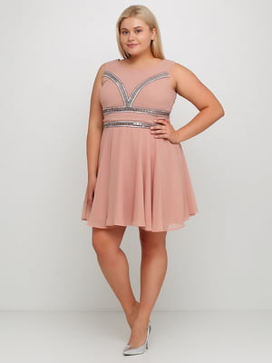 Сукня кольору пудри | 5350746