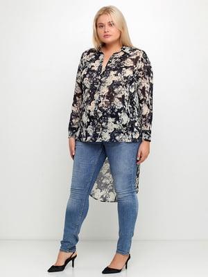 Блуза з принтом | 5350747