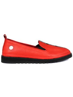 Слипоны красные | 5345068