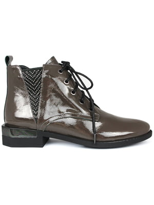 Ботинки серые   5350892
