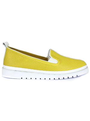 Слипоны желтые | 5345065