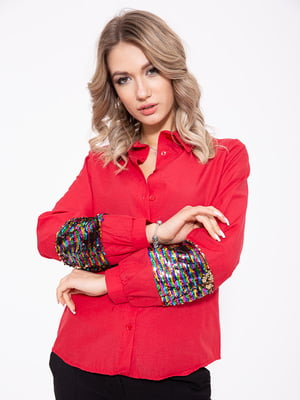 Рубашка красная | 5351050