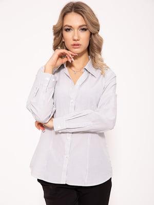Рубашка бело-черная | 5351056