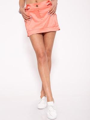 Спідниця персикового кольору | 5351081