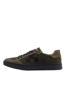 Кросівки темно-зелені | 5351181
