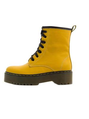 Ботинки желтые | 5351191