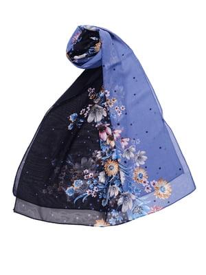 Шарф комбинированной расцветки | 5351312