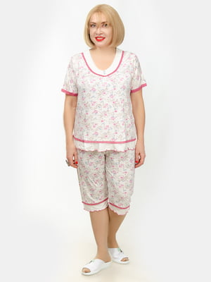 Пижама: футболка и бриджи | 5351684