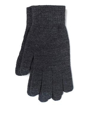 Рукавички темно-сірі | 5351950