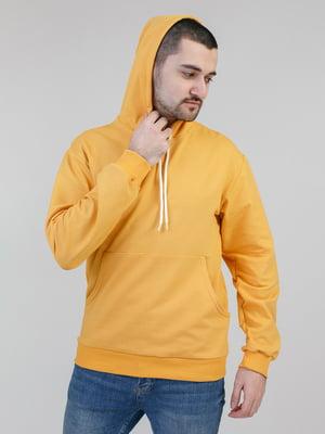 Худи горчичного цвета | 5351109