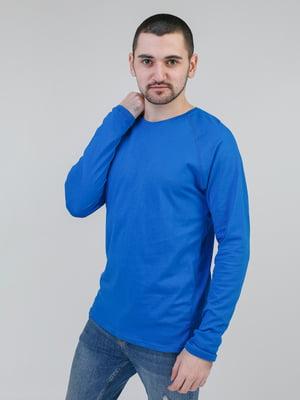 Лонгслив синий | 5351111