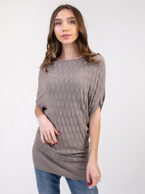 Платье-туника цвета кофе | 5350756