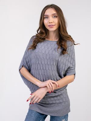 Платье-туника серое | 5350760