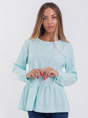 Блуза бірюзова | 5352312