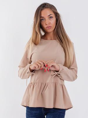 Блуза цвета капучино   5352313