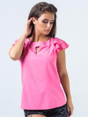 Блуза малинового цвета   5352321