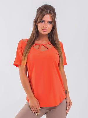 Блуза помаранчева | 5352327