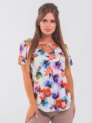 Блуза белая   5352329