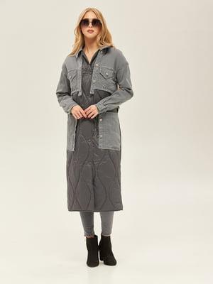 Пальто сірого кольору | 5352392