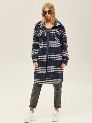 Пальто синього кольору | 5352399