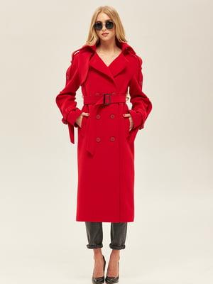 Пальто червоного кольору | 5352411