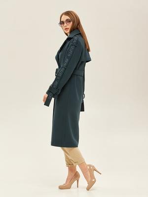 Пальто зеленого кольору | 5352412