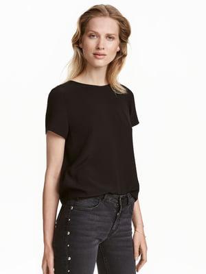 Блуза черная   5352815