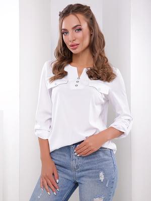 Блуза белого цвета | 5352840