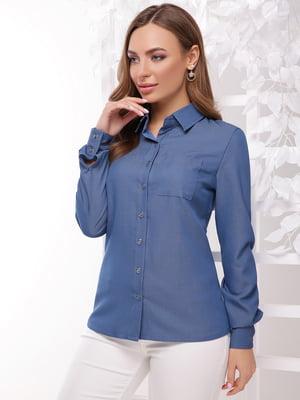 Сорочка світло-джинсового кольору   5352846