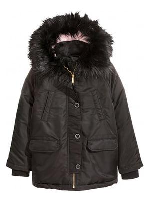 Куртка чорна | 5353107