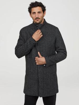 Пальто сіре | 5353146