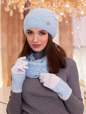 Комплект: шапка, шарф-снуд и перчатки | 5354501