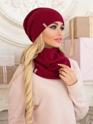 Комплект: шапка і шарф-хомут | 5354524