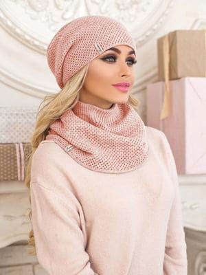 Комплект: шапка и шарф-хомут | 5354526