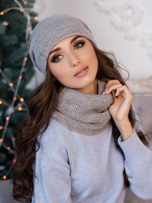 Комплект: шапка и шарф-хомут | 5354527