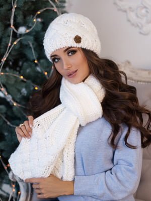 Комплект: шапка и шарф | 5354555