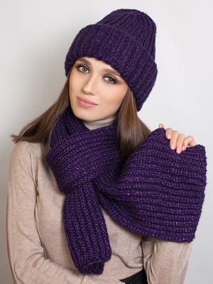 Комплект: шапка і шарф | 5354580