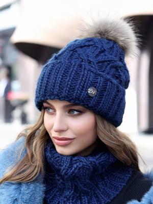 Комплект: шапка і шарф-хомут | 5354611