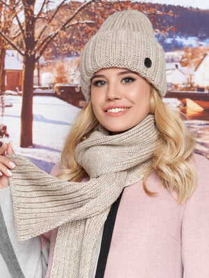 Комплект: шапка і шарф | 5354658