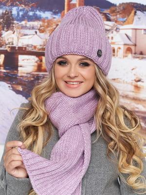 Комплект: шапка і шарф | 5354659