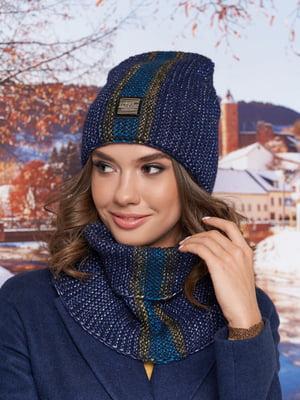 Комплект: шапка-колпак и шарф-хомут | 5354670