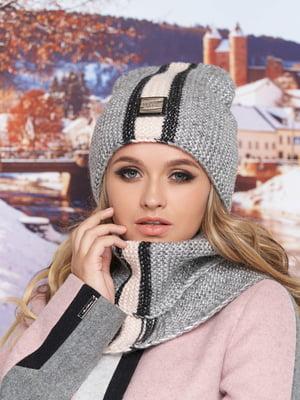 Комплект: шапка-колпак и шарф-хомут | 5354671