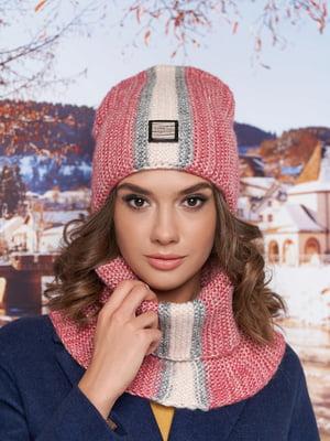 Комплект: шапка-колпак и шарф-хомут | 5354672