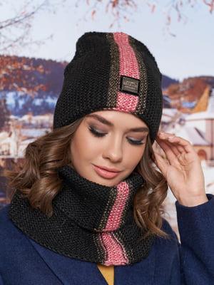 Комплект: шапка-колпак и шарф-хомут | 5354673