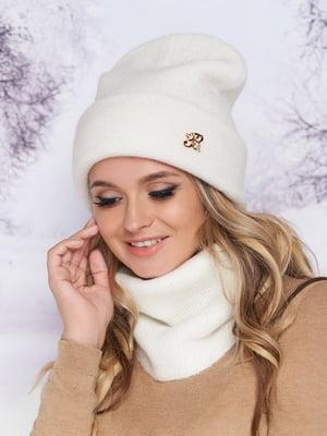 Комплект: шапка и шарф-хомут | 5354750