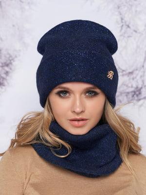 Комплект: шапка и шарф-хомут | 5354751