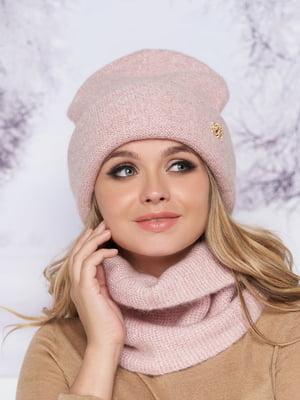 Комплект: шапка и шарф-хомут | 5354754