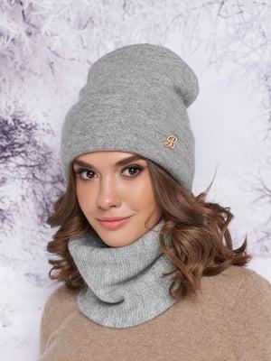 Комплект: шапка и шарф-хомут | 5354755