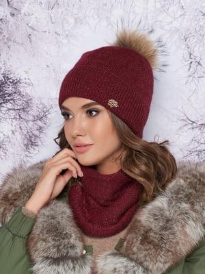 Комплект: шапка и шарф-хомут | 5354768